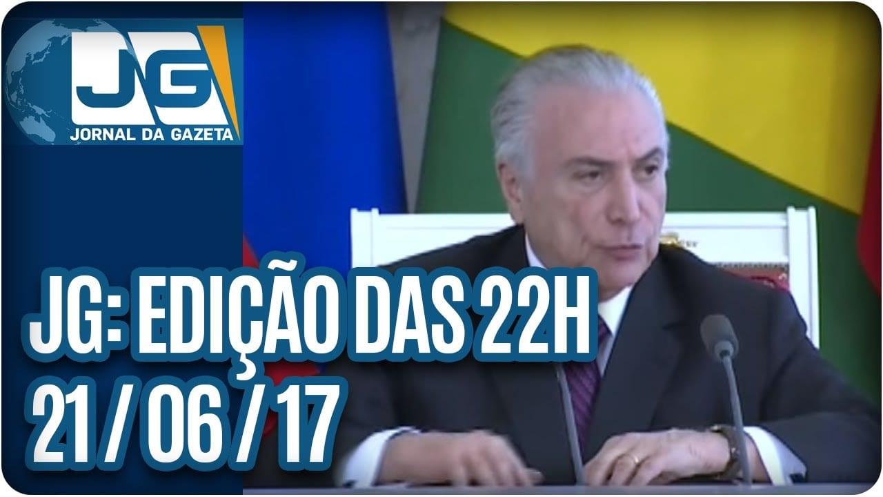 Jornal da Gazeta – Edição das 10 – 21/06/2017