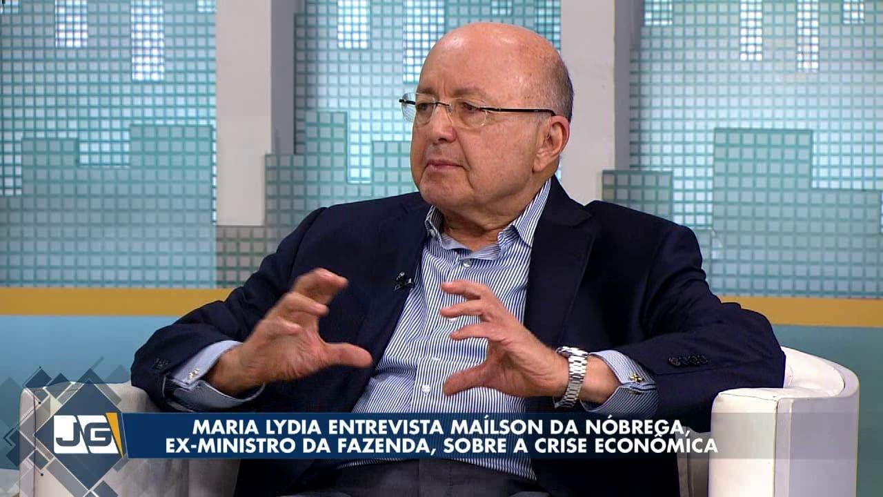 Maria Lydia entrevista Maílson da Nóbrega, ex-ministro da Fazenda, sobre a crise econômica
