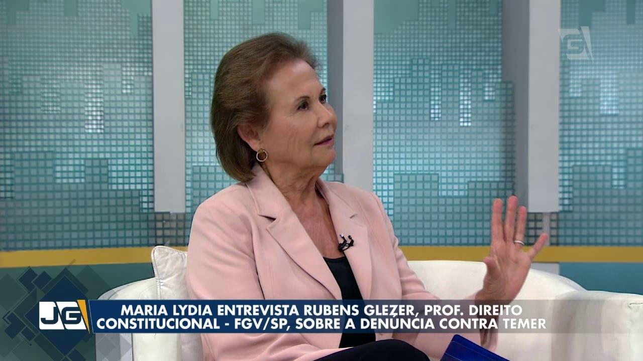 Maria Lydia entrevista Rubens Glezer, prof. Direito Constitucional, sobre a denúncia contra Temer
