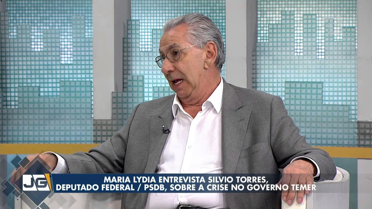 Maria Lydia entrevista Silvio Torres, deputado federal/PSDB, sobre a crise no governo Temer