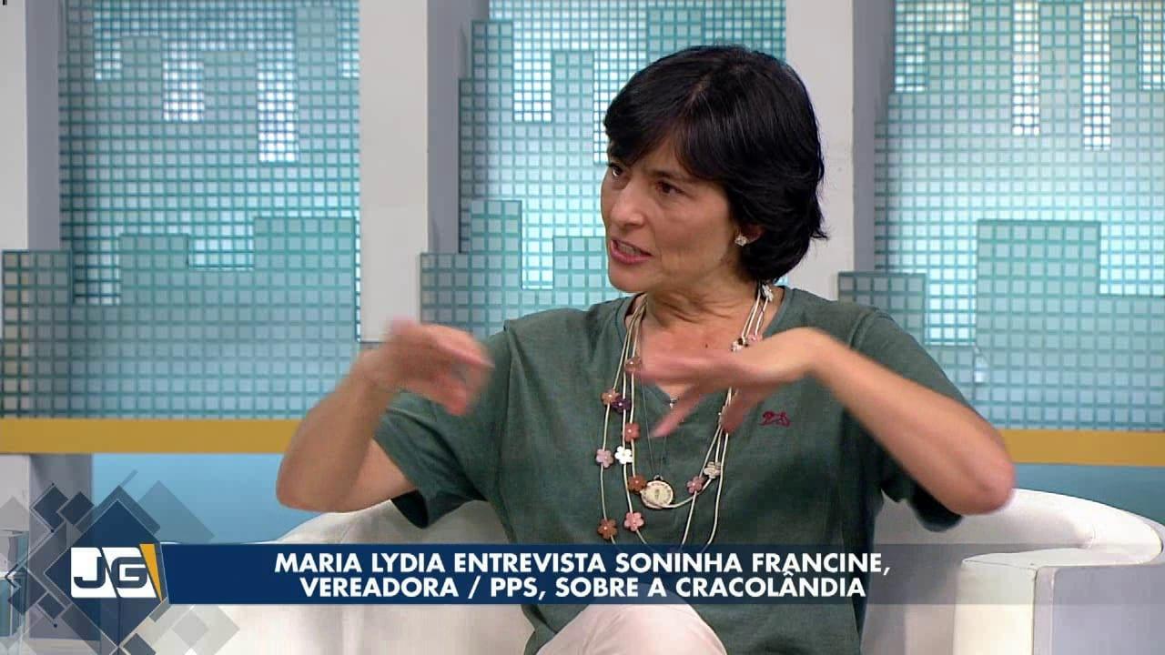 Maria Lydia entrevista Soninha Francine, vereadora/PPS, sobre a Cracolândia