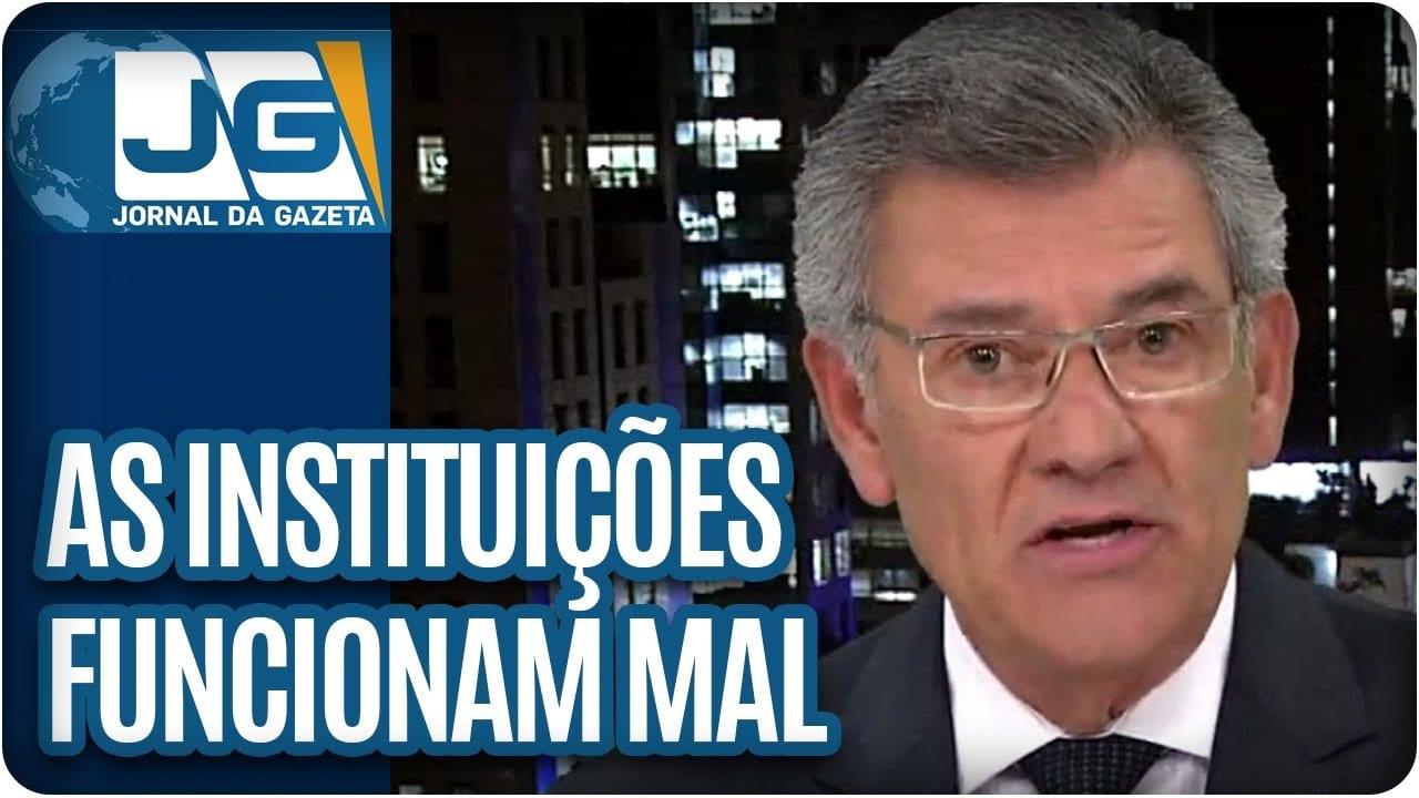 As instituições funcionam MAL: Temer compra votos, Geddel e PMs de Alckmin  | Rodolpho Gamberini