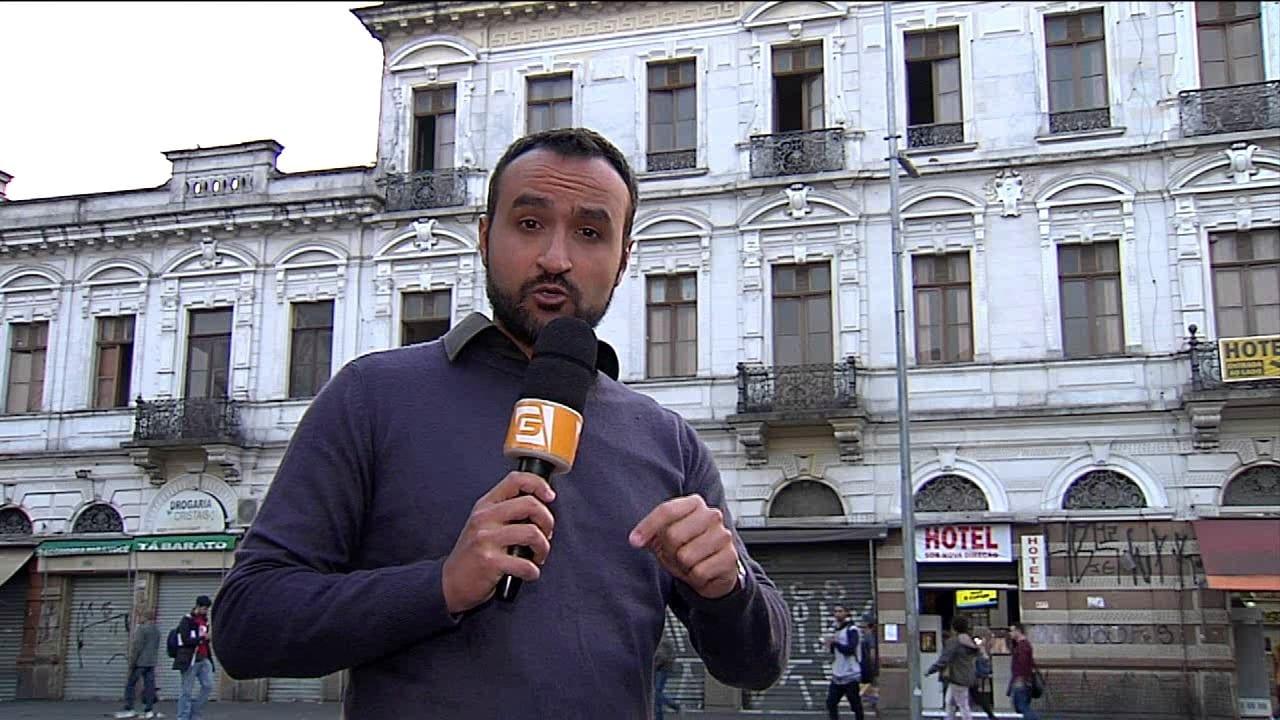 Interditado prédio histórico na Luz