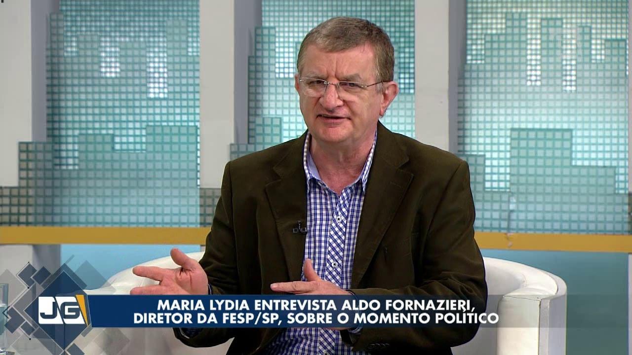Maria Lydia entrevista Aldo Fornazieri, diretor da FESP/SP, sobre o momento político