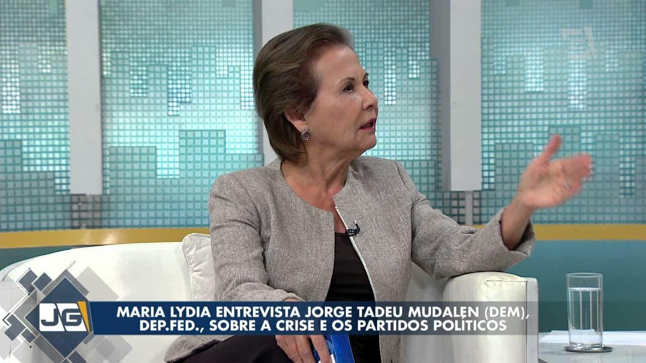 Maria Lydia entrevista Jorge Tadeu Mudalen (DEM), dep. fed., sobre a crise e os partidos políticos