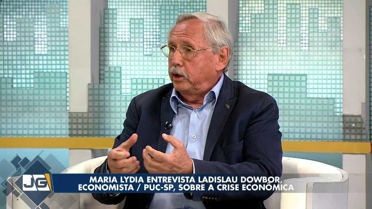 Maria Lydia entrevista Ladislau Dowbor, economista/PUC-SP, sobre a crise econômica