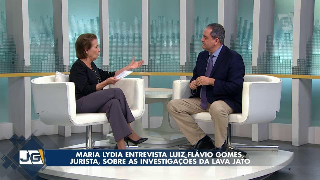 Maria Lydia entrevista Luiz Flávio Gomes, jurista, sobre as investigações da Lava Jato
