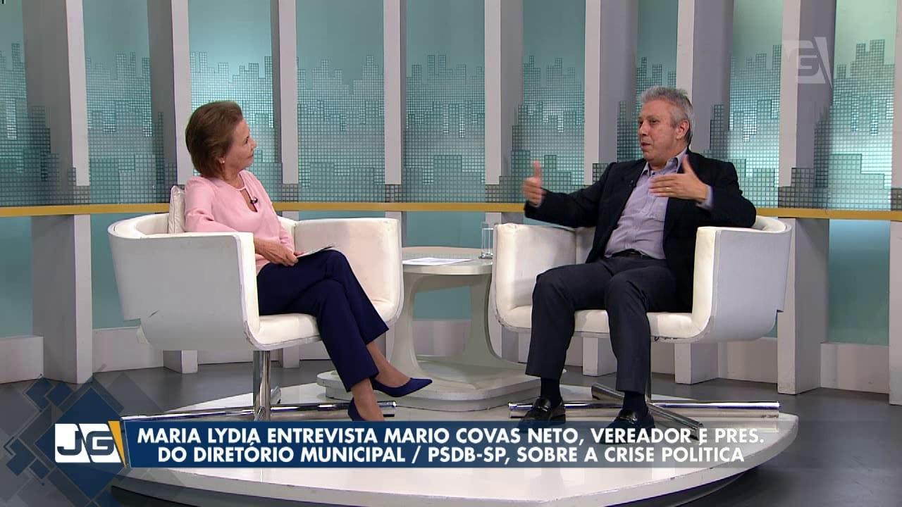 Maria Lydia entrevista Mario Covas Neto, vereador e pres. do Diretório Municipal./PSDB-SP
