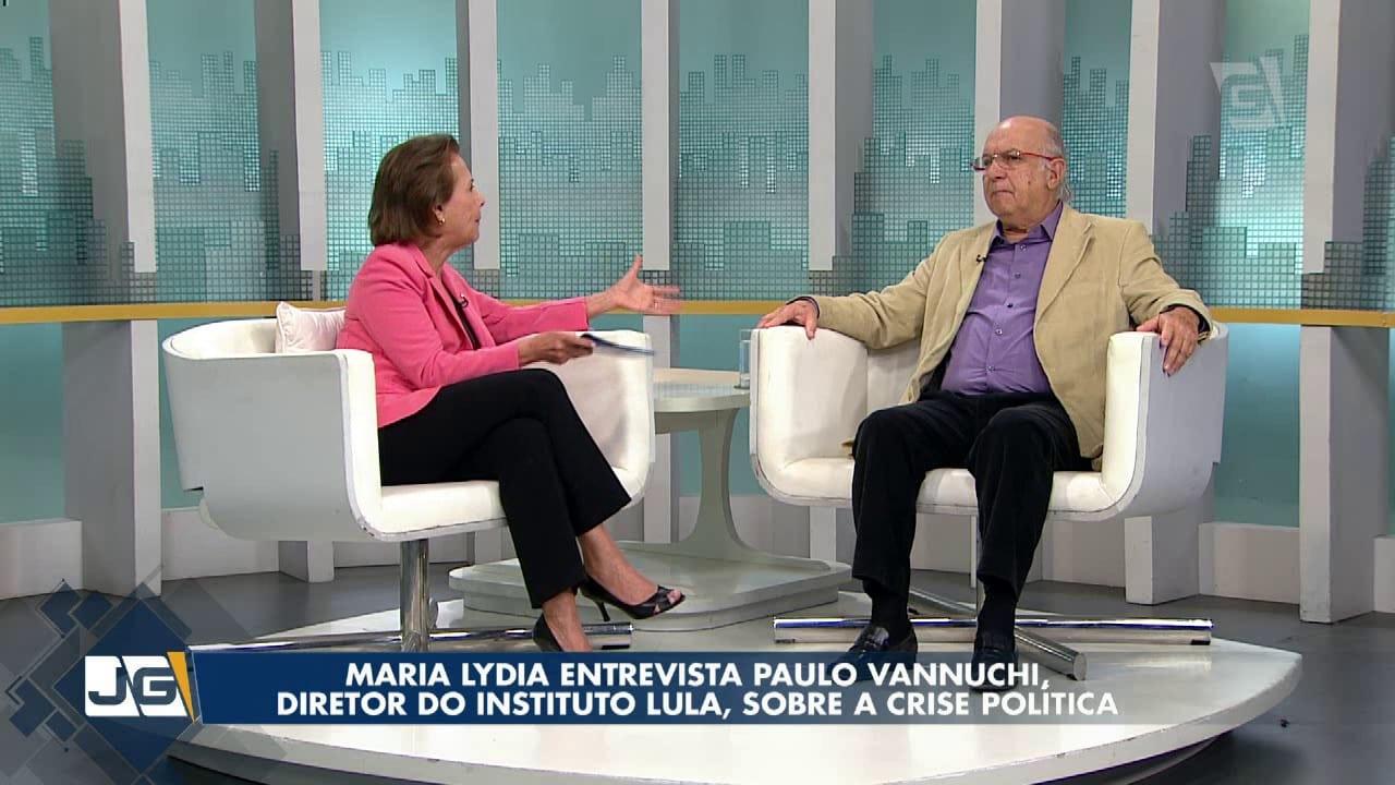 Maria Lydia entrevista Paulo Vannuchi, diretor do Instituto Lula, sobre a crise política