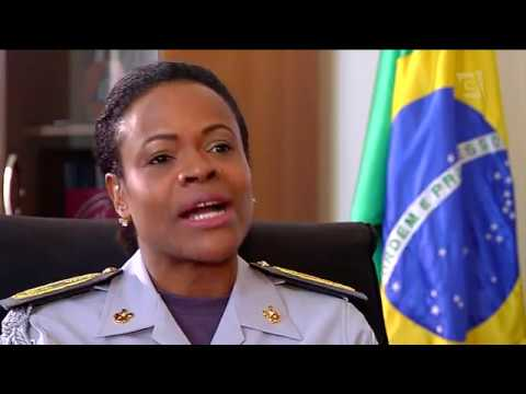 Na Casa Militar, a 1ª mulher negra