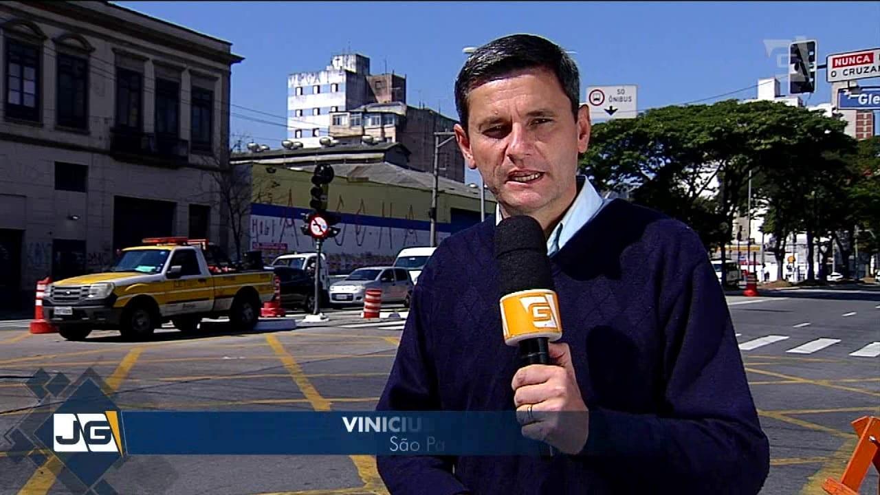 Semáforos apagados em São Paulo