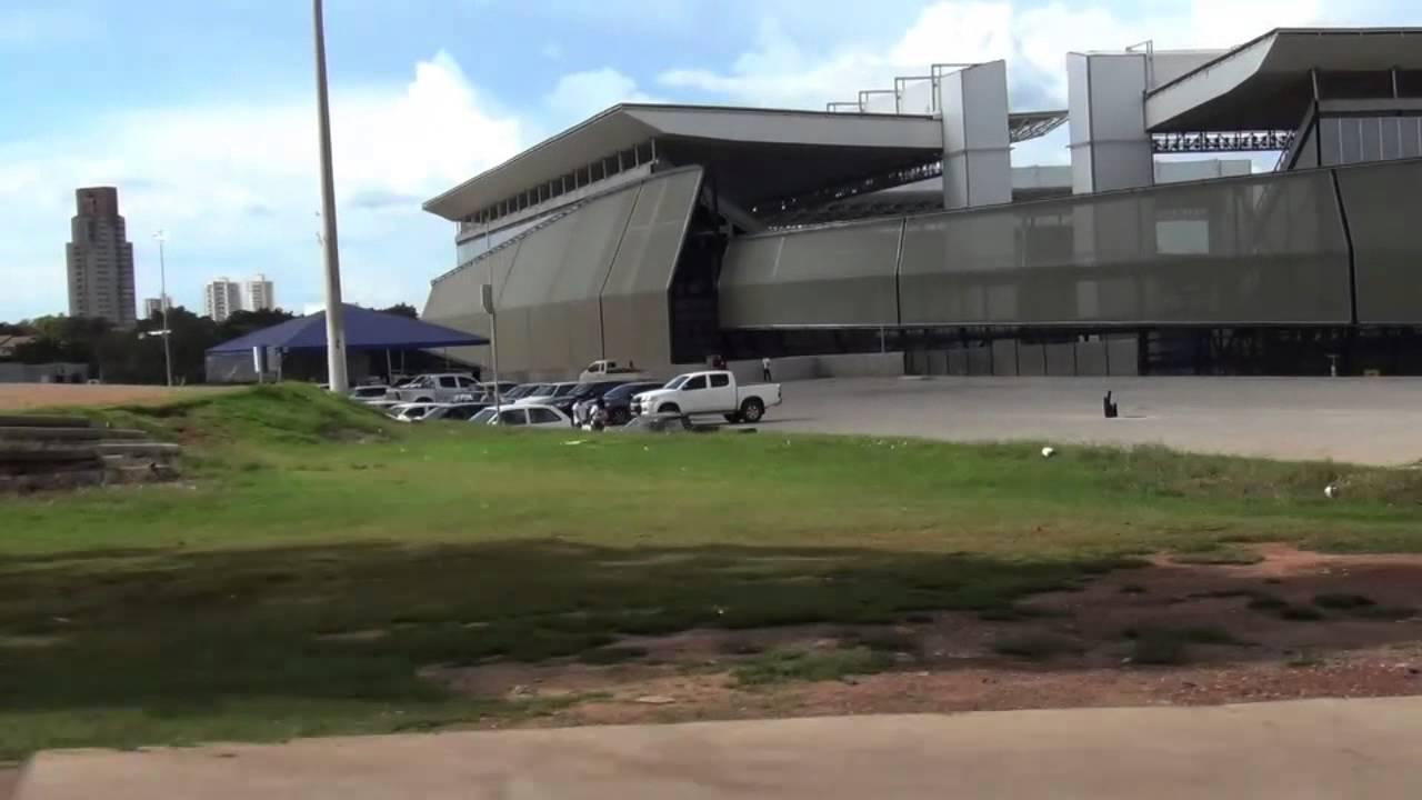 Arena Pantanal – Mixto x Santos