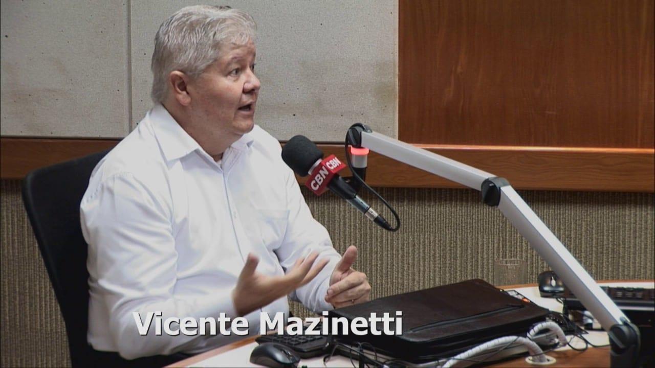 """CBN – Mundo Corporativo:  """"a tomada de decisão é sempre do ser humano"""", diz Vicente Mazinetti"""